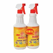 3M EXTRA STRENGTH NO RINSE CLEANER TWIN PACK