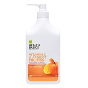 Health Basics New Body Wash 1L (Vitamin C & Apricot)
