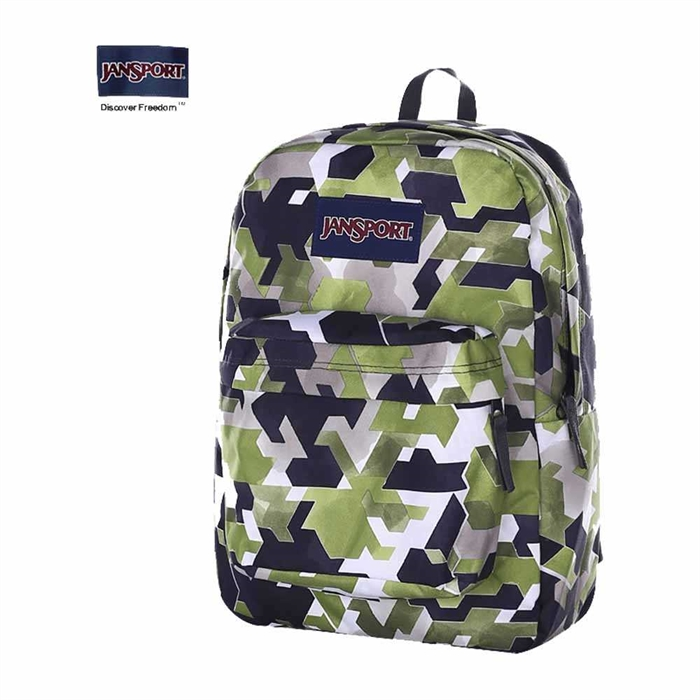 most reliable preview of big clearance sale JanSport light weight printed backpack T5010JY--Wing On NETshop