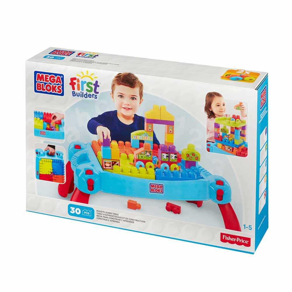 費雪美高3合1幼童學習大塊積木遊戲桌CNM42