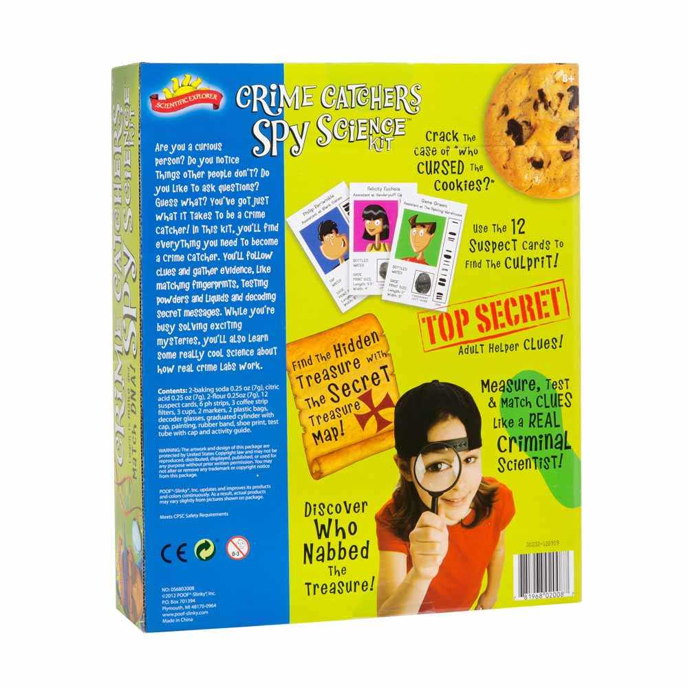 Scientific Explorer Crime Catchers Spy Science Kit SE-0S6802008