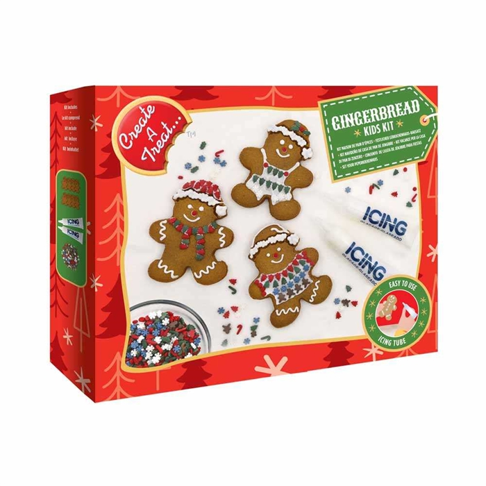 Create a Treat Gingerbread Family Cookie Kit 1019g